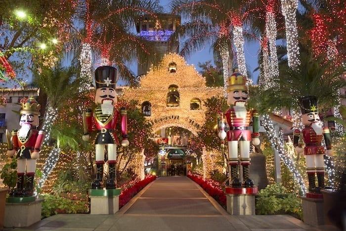 Mission Inn Hotel Christmas Lights