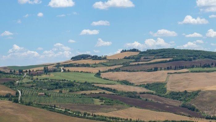 Pienza and Tuscany