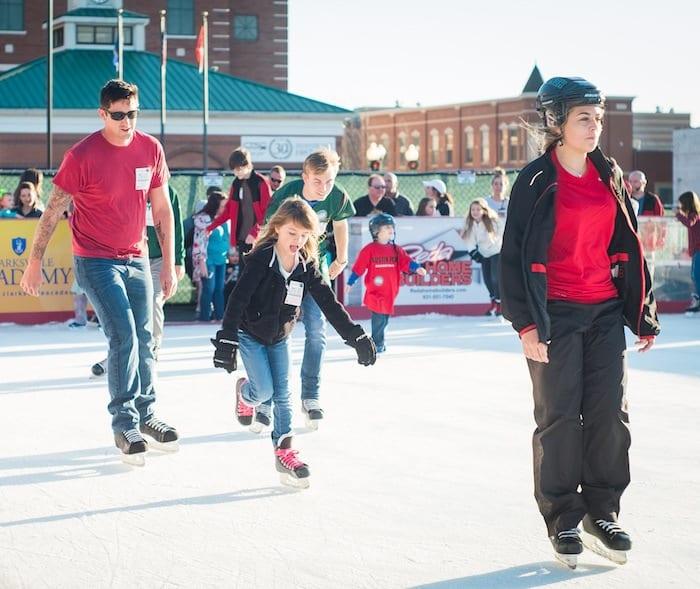 ice skating in Clarksville TN