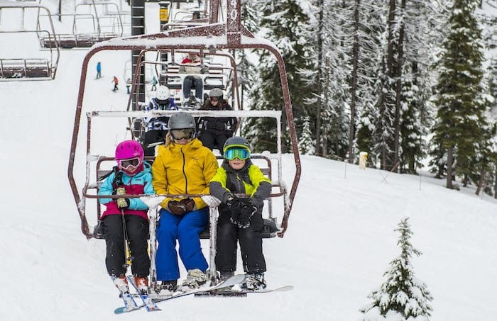 Skiing at Silver Mountain