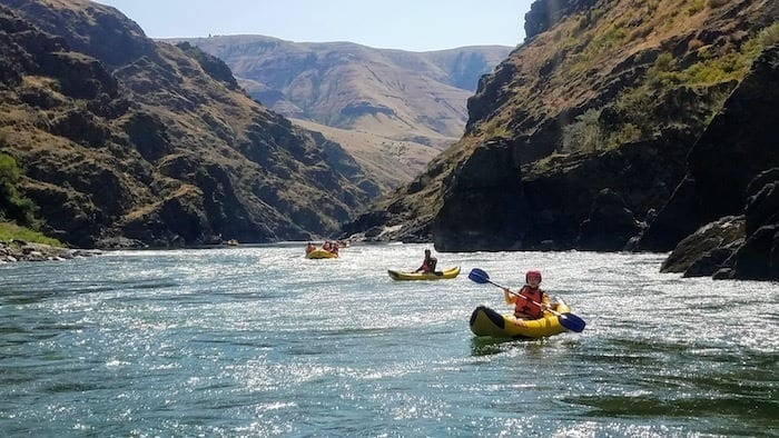 rafting in Idaho with OARS