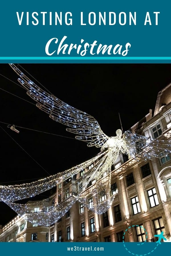 Things to do in London at Christmas - enjoy traditional European Christmas markets, festive lights, and special winter festivals #london #christmas #holidaytravel