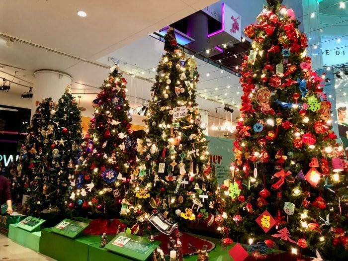 Museum of Science and industry christmas trees