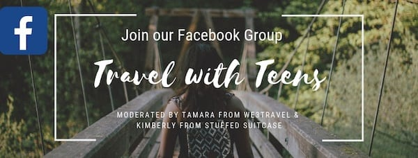 Travel with Teens Facebook group