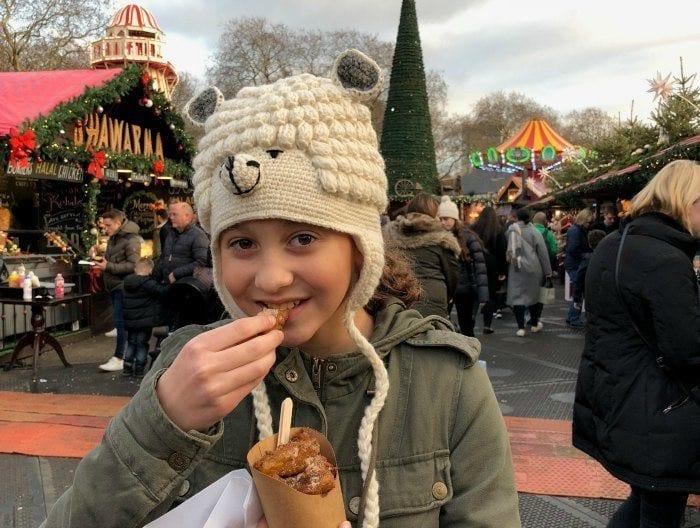 Winter Wonderland apple fries