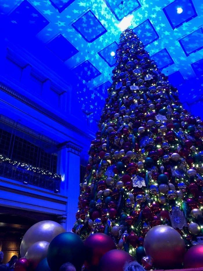 Walnut Room Macy's Christmas tree