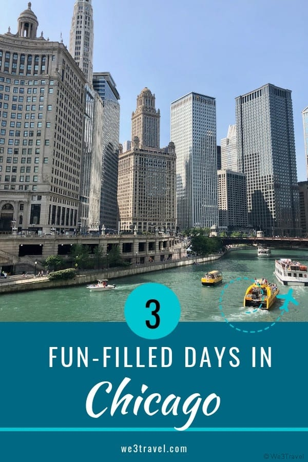 3 days in Chicago - learn how to spend a fun-filled 3 days in Chicago with this ready-made itinerary, plus how to save money on attractions with Chicago CityPASS. #chicago #CityPASS #Illinois #familytravel