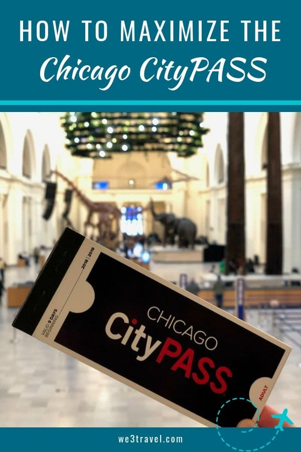 How to maximize a Chicago CityPASS when visiting Chicago on a budget. Make the most of your time and your money while getting to visit the Skydeck Chicago, Field Museum, Shedd Aquarium, Adler Planetarium or Art Institute of Chicago, and 360 Skydeck or Museum of Science and Industry. #chicago #citypass #chicagocitypass #sponsored