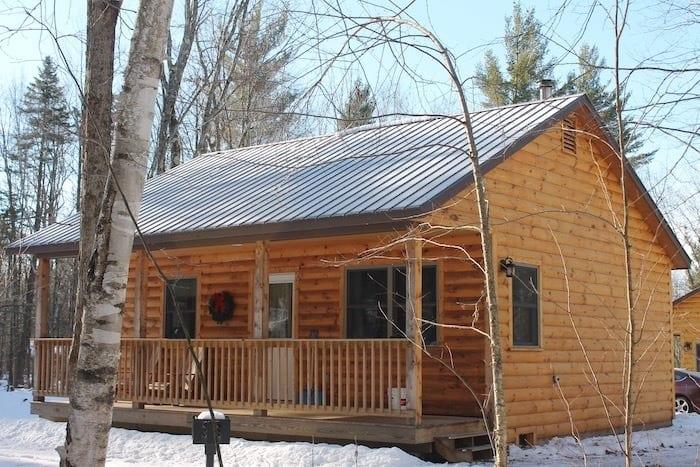 Sterling Ridge log cabin