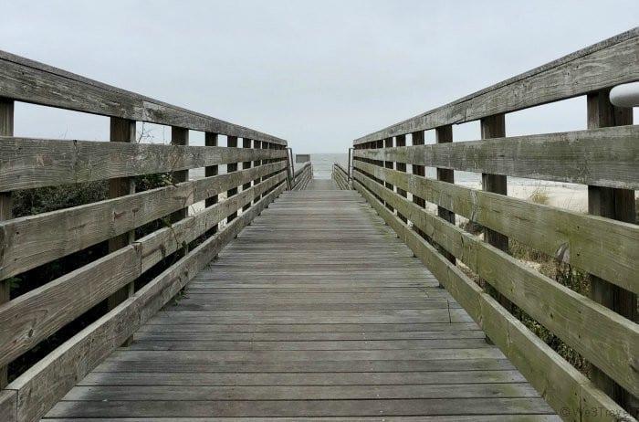 Jekyll Island Corsair boardwalk