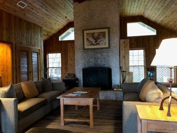 River Lodge living room