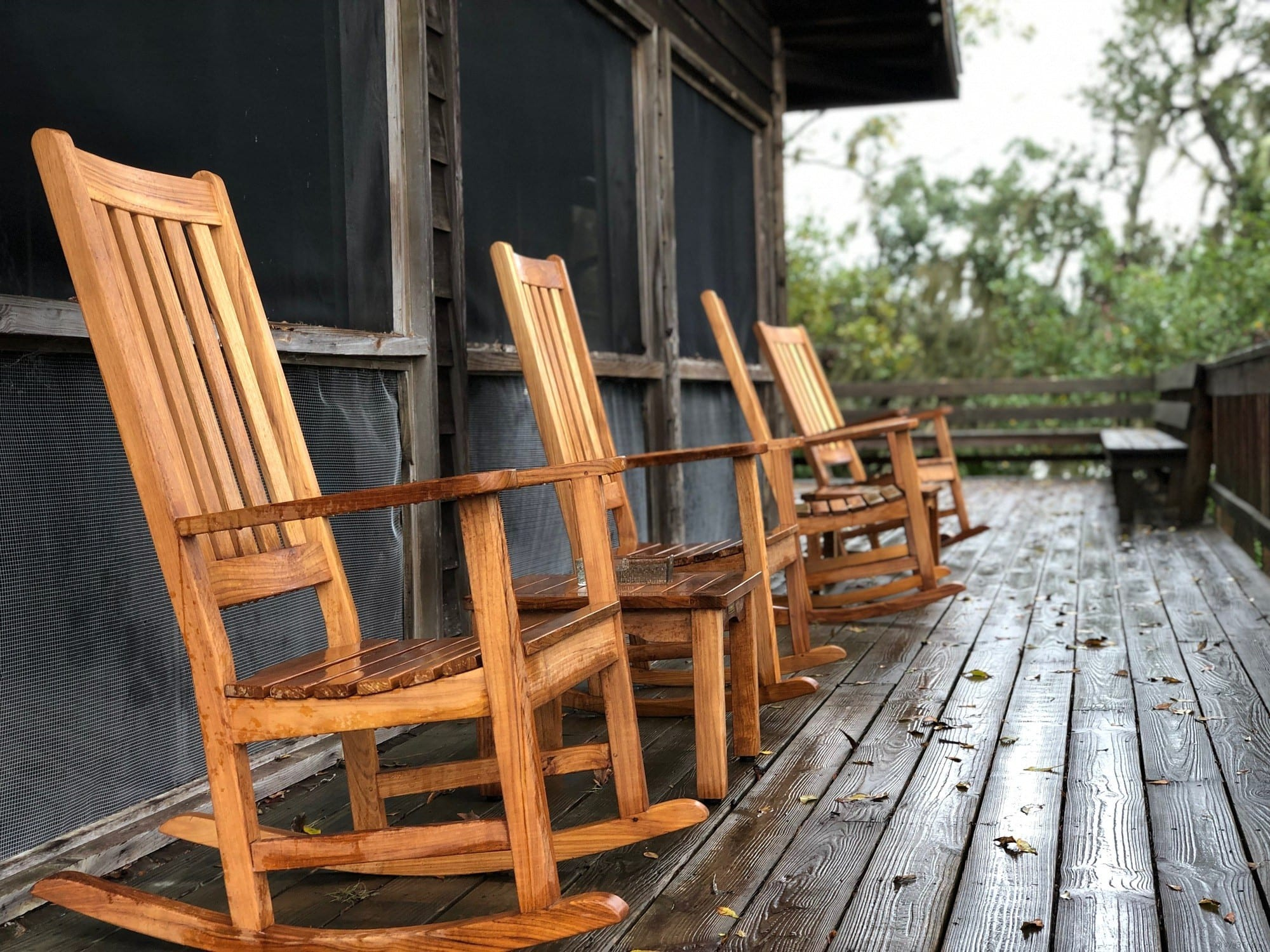 River Lodge rocking chairs