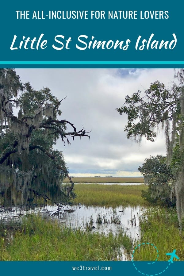 Little St. Simons Island is an all-inclusive resort off the coast of Georgia. It is perfect for families that want to recharge and enjoy nature. There are naturalists led activities like sea turtle walks, birding, kayaking, biking and more. #littlestsimonsisland #georgia #goldenisles