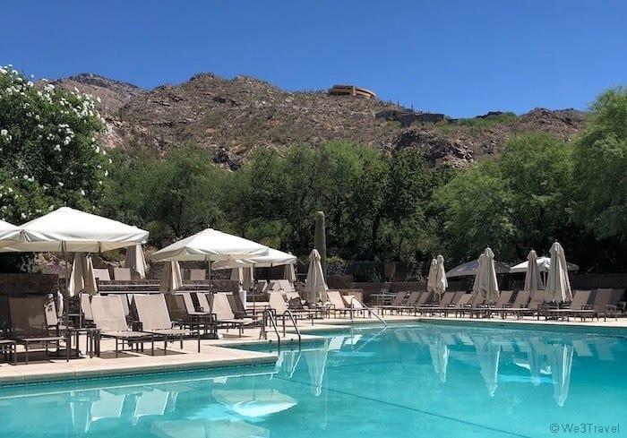Loews Ventana Canyon pool
