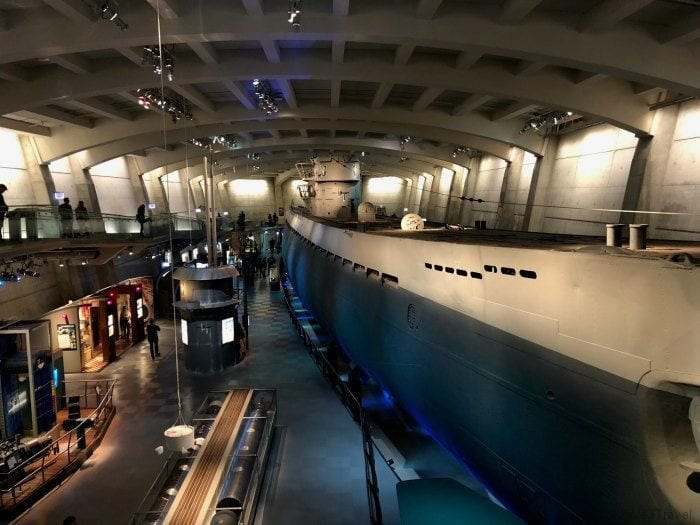Museum of Science and Industry submarine