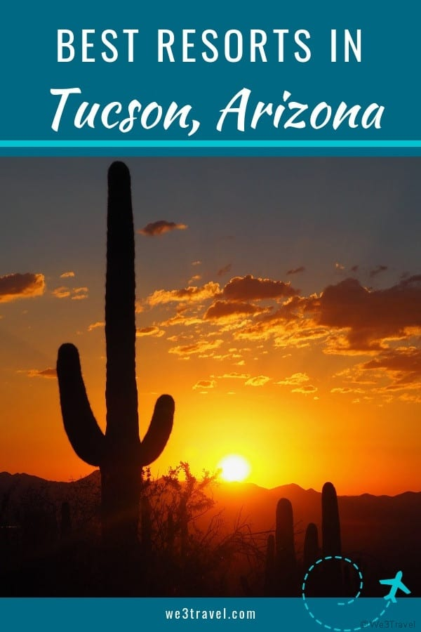 Best blogger-recommended Tucson resorts for families including luxury resorts and guest ranches. #arizona #tucson #familytravel #hotels