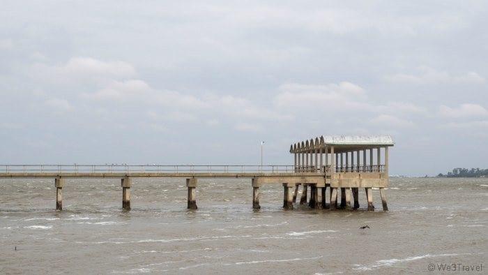 Clam creek fishing pier
