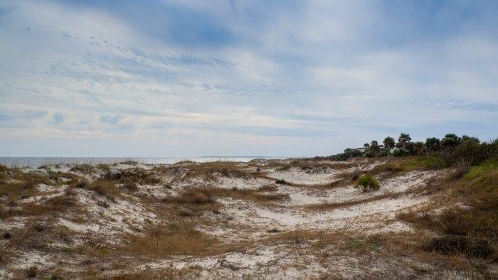 Great Dunes beach park dunes