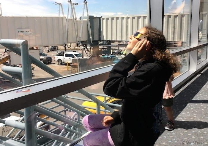 Hannah at Denver airport