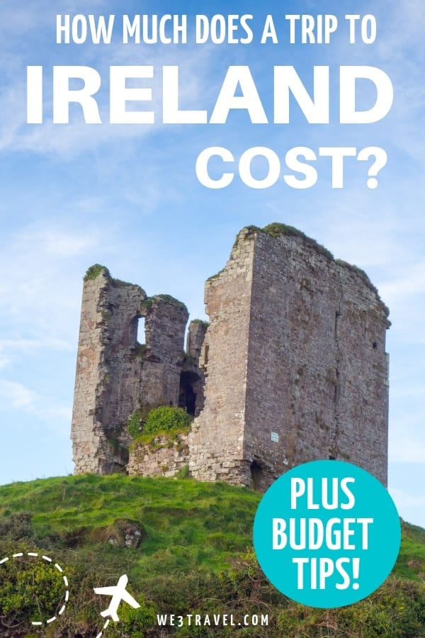 Planning Ireland travel? Build your Ireland trip budget with this breakdown of how much the average Ireland family vacation costs. #ireland