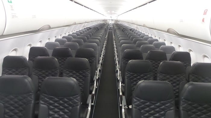 Frontier Airlines new seats