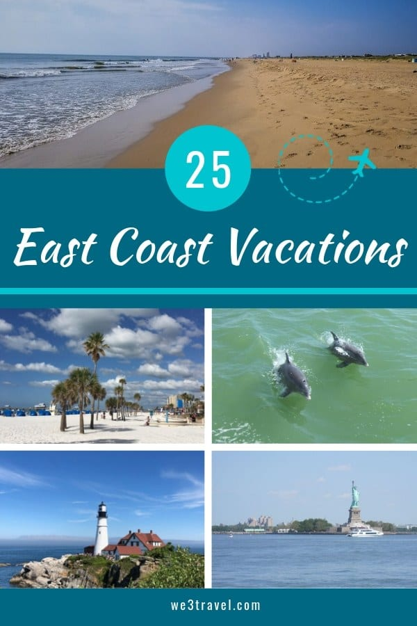 25 East Coast family vacation destinations
