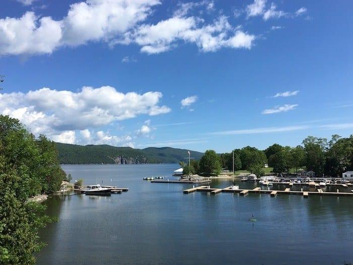 Basin Harbor lake