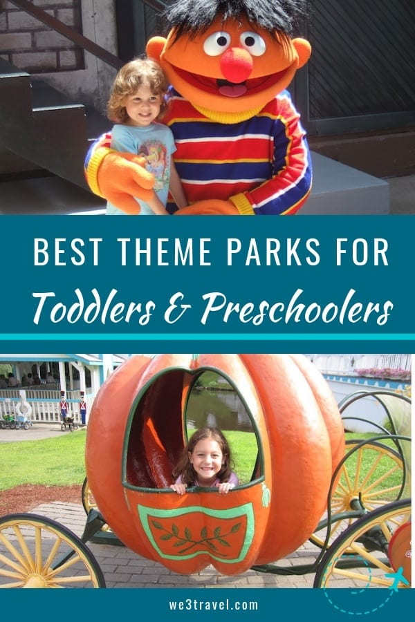 Best theme parks for toddlers and preschoolers in the U.S.