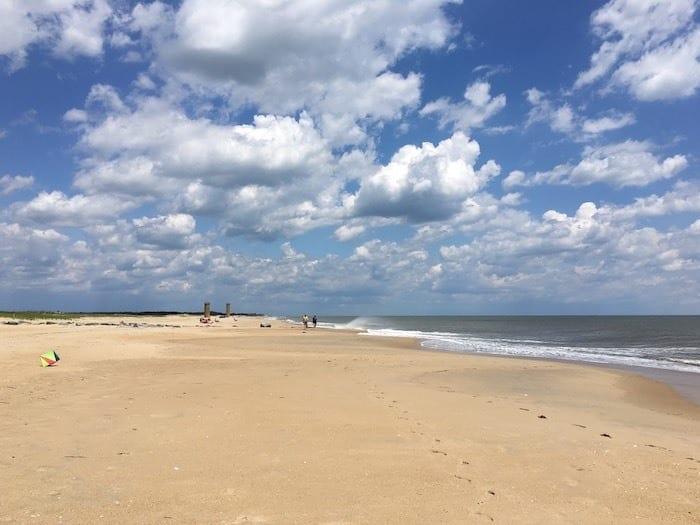 Cape Henlopen beach