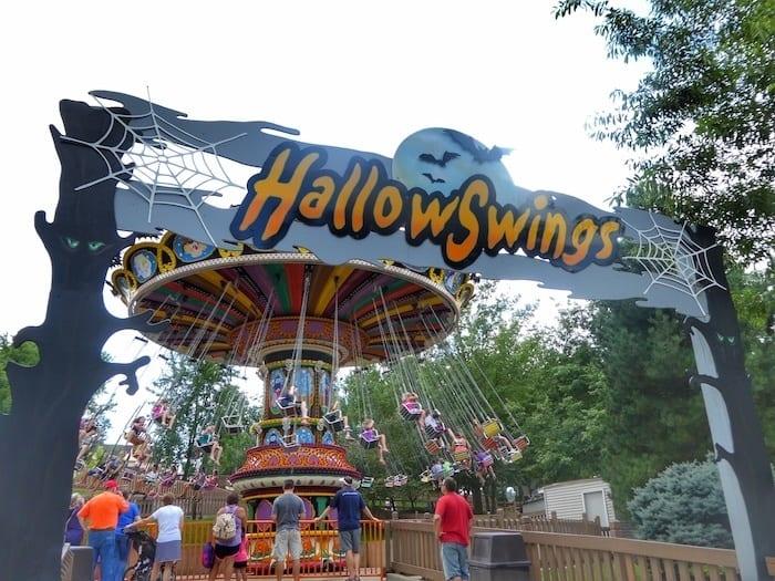 Holiday World Hallow Swings
