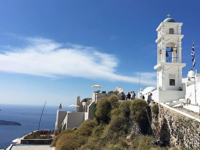 Santorini, Image courtesy of Shannon Entin, The TV Traveler
