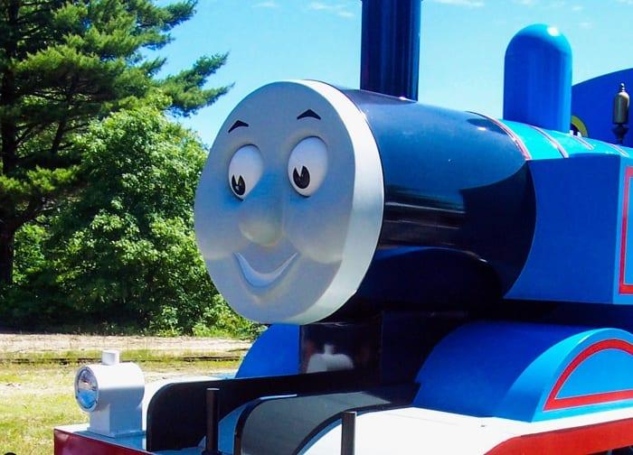 Thomas the Train at Edaville
