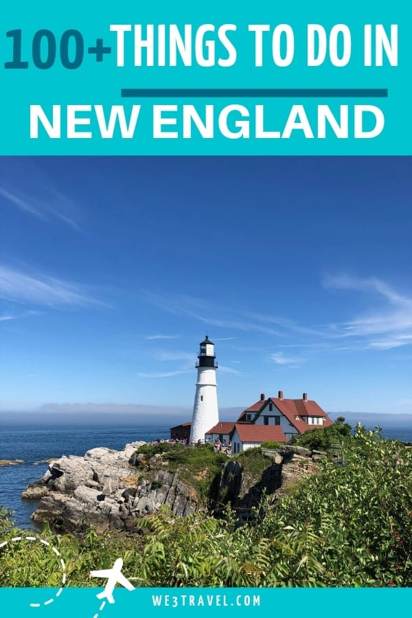 100+ things to do in New England with kids (toddlers to teens) in winter, summer, and fall. This exhaustive list covers Connecticut, Rhode Island, Massachusetts, Vermont, New Hampshire, and Maine. #newengland #familytravel