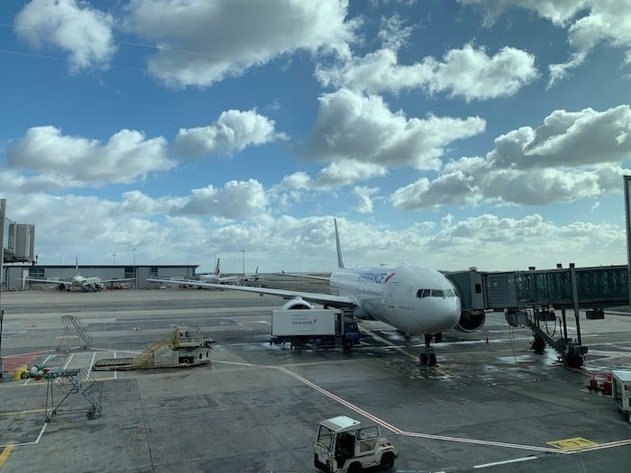 Air France Plane in CDG
