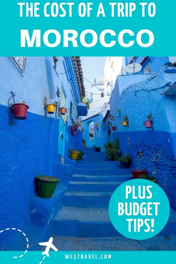 Morocco trip budget breakdown and tips for planning your vacation budget. #morocco #moroccotravel #moroccobudget
