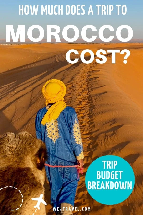 How much does a trip to Morocco cost? Morocco travel budget breakdown.