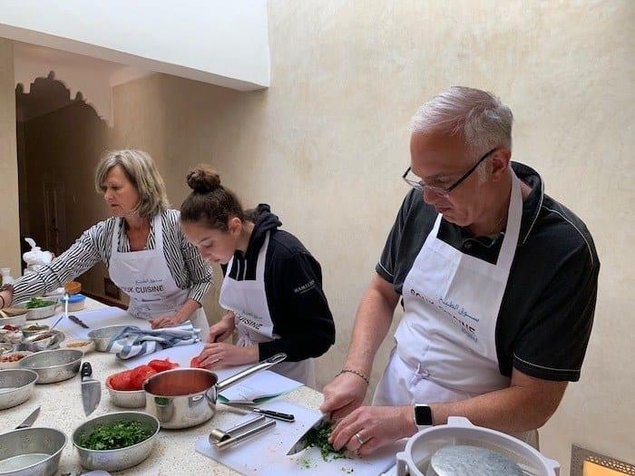 Souk Cuisine cooking class in Marrakech