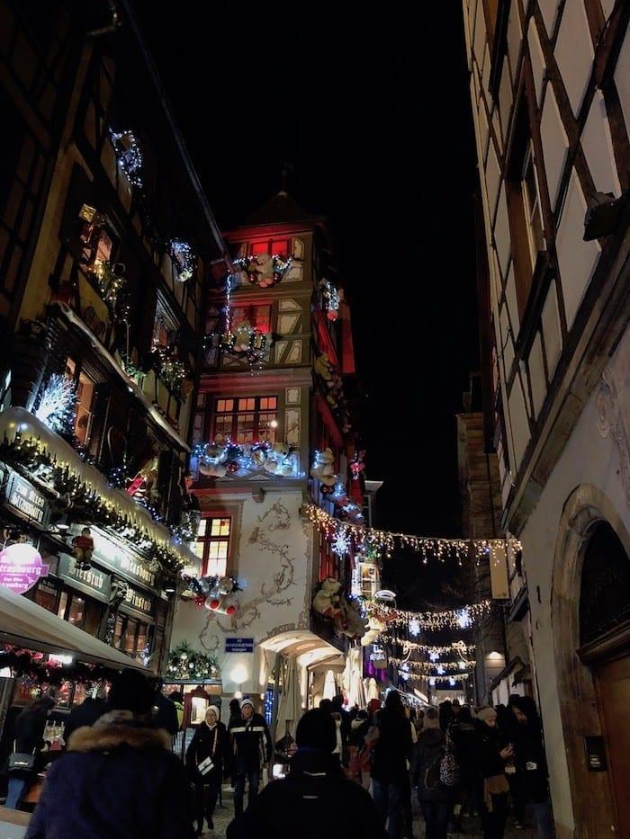 s decorations in Strasbourg