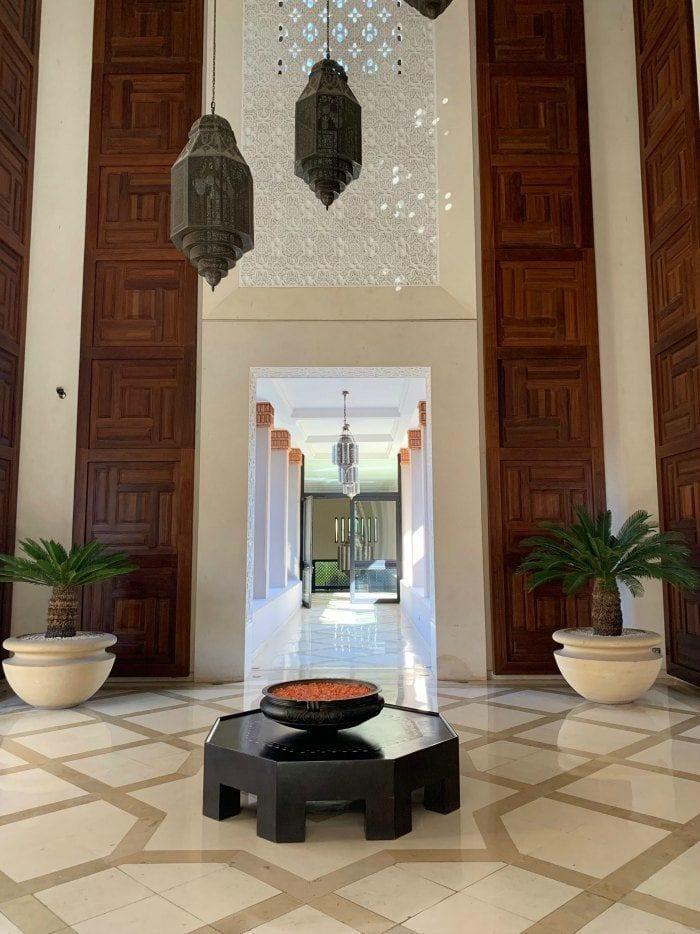 Four Seasons Marrakech lobby