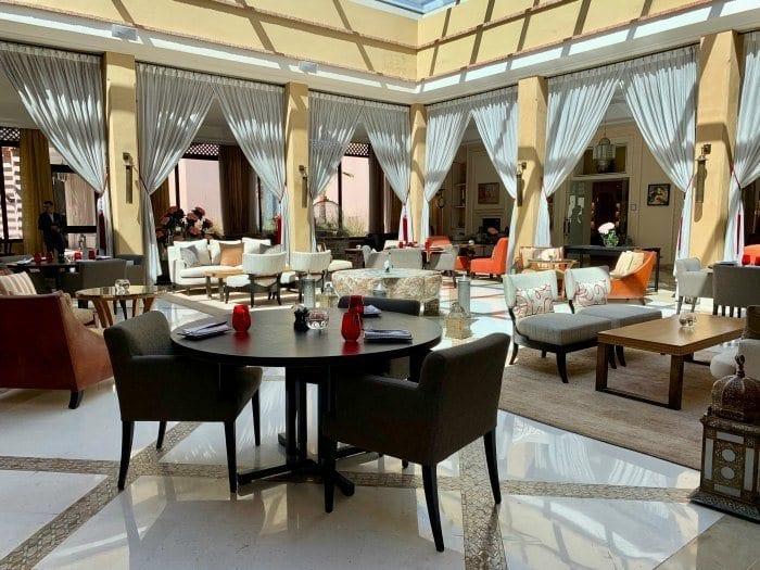 Four Seasons Marrakech Inara restaurant