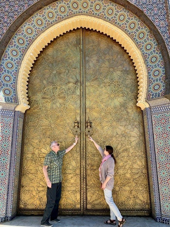 Fes palace gates