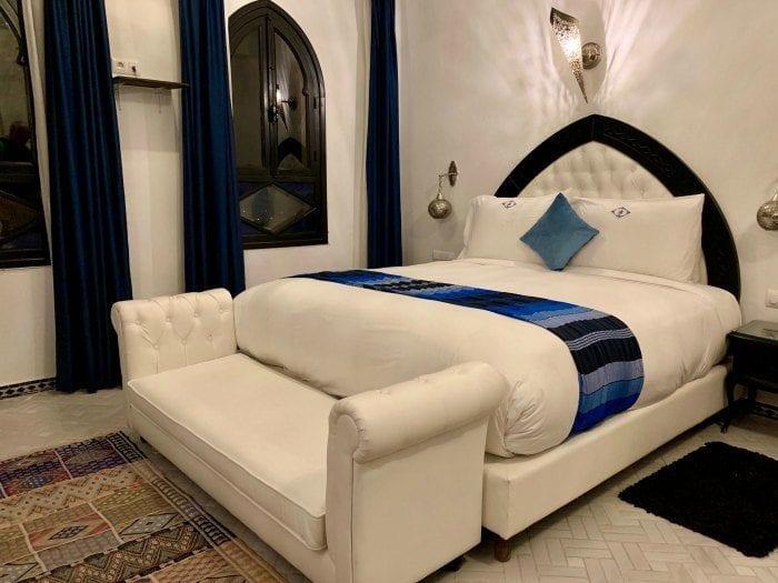 Lina Ryad bedroom
