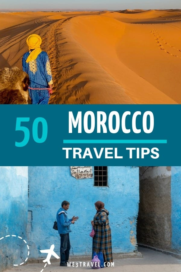 Read these Morocco travel tips before planning your trip to this amazing country! Get the scoop on Moroccan culture, food, shopping, money, and more. #morocco #moroccanfood #moroccanculture