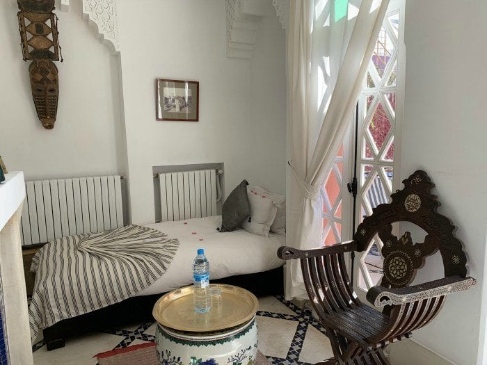 Riad Kaiss two-room suite, single room