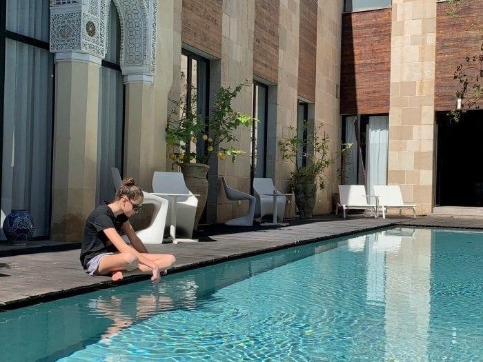 Riad Fes pool