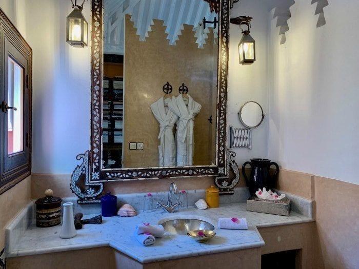 Riad Kaiss suite bathroom