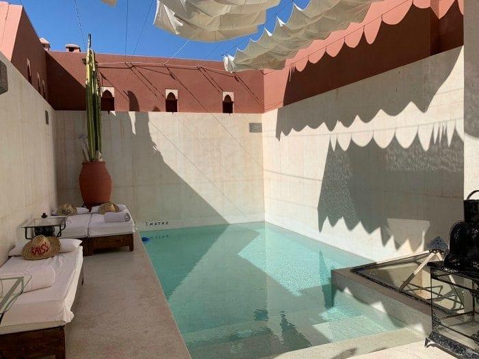 Riad Kaiss rooftop pool