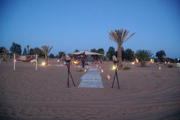 Jaimas Madu desert camp