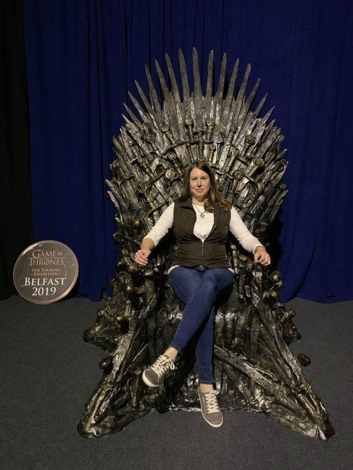 Game of Thrones touring exhibition Iron Throne