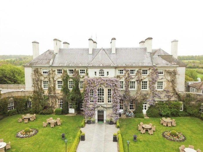 Mount Juliet Estate drone picture